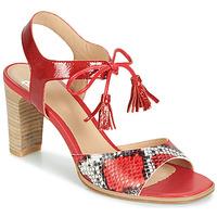 Skor Dam Sandaler Perlato RUBY Röd