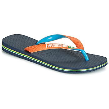 Skor Flip-flops Havaianas BRASIL MIX Marin / Orange