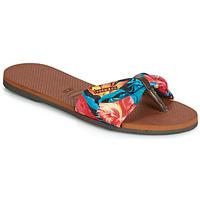 Skor Dam Flip-flops Havaianas YOU ST TROPEZ Blommig
