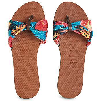 Skor Dam Flip-flops Havaianas YOU SAINT TROPEZ Blommig