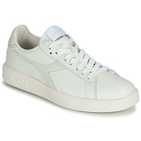 Skor Dam Sneakers Diadora GAME WIDE Benvit / Grå