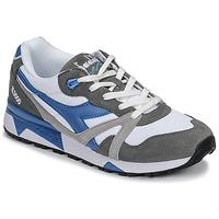 Skor Herr Sneakers Diadora N 9000 III Vit / Grå / Turkos