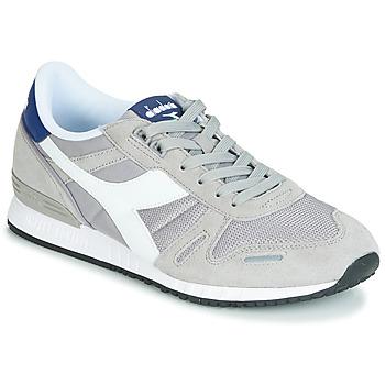 Skor Herr Sneakers Diadora TITAN II Grå / Blå