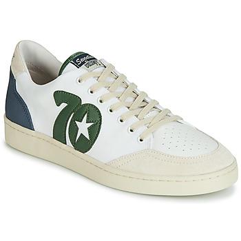 Skor Herr Sneakers Kost SEVENTIES 14 Benvit / Grön / Blå