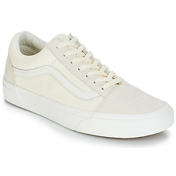 Skor Dam Sneakers Vans OLD SKOOL Beige