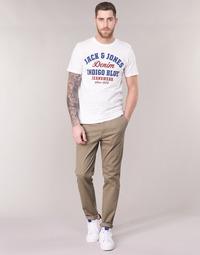 textil Herr Chinos / Carrot jeans Jack & Jones JJIMARCO Beige