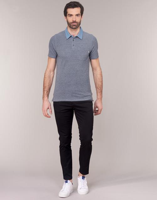 textil Herr Chinos / Carrot jeans Jack & Jones JJIMARCO Svart
