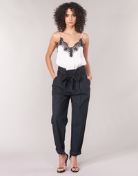 textil Dam 5-ficksbyxor Maison Scotch LONG BLACK PANT Svart