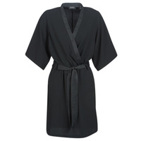 textil Dam Korta klänningar Maison Scotch SS BLACK DRESS Svart