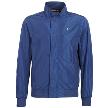 textil Herr Vindjackor Scotch & Soda AMS BLAUW SIMPLE HARRINGTON JACKET Marin
