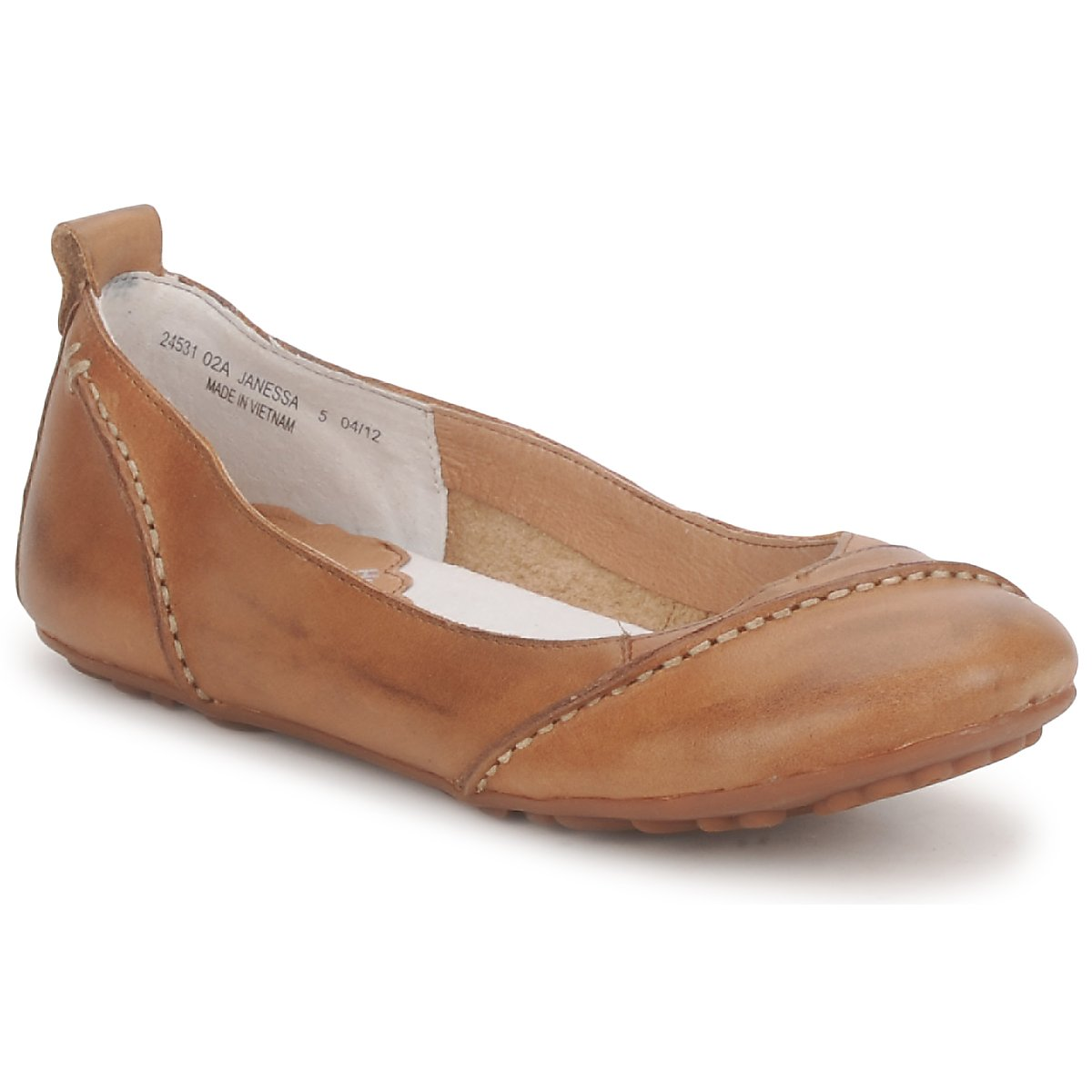 ballerinor Hush puppies JANESSA Brun