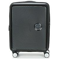 Väskor Hårda resväskor American Tourister SOUNDBOX 55CM 4R Svart