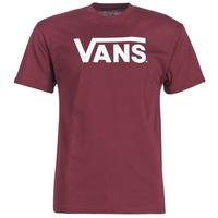 textil Herr T-shirts Vans VANS CLASSIC Bordeaux