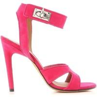 Skor Dam Sandaler Givenchy BE300FE005 675 Fucsia
