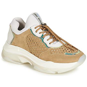 Skor Dam Sneakers Bronx BAISLEY Vit / Brun