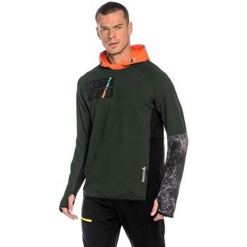 textil Herr Sweatshirts Reebok Sport DT Stretch Oth Z Gröna, Orange