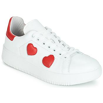 Skor Dam Sneakers Yurban JIBOUILLE Vit