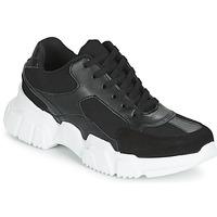 Skor Dam Sneakers Yurban JILIBELLE Svart / Vit