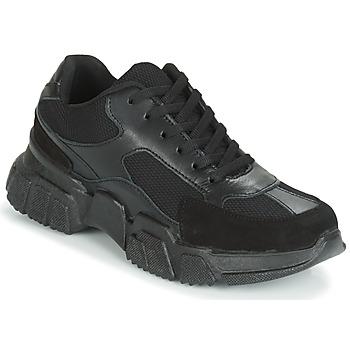 Skor Dam Sneakers Yurban JILIBELLE Svart