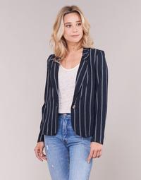 textil Dam Jackor & Kavajer Vero Moda VMANNA Vit / Marin