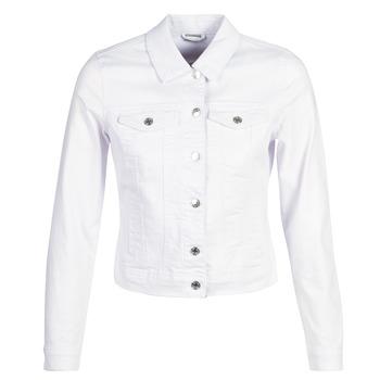 textil Dam Jeansjackor Vero Moda VMHOT SOYA Vit