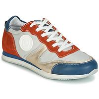 Skor Dam Sneakers Pataugas IDOL/MIX Orange / Beige / Blå