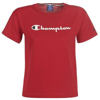 textil Dam T-shirts Champion 111393-RIR Bordeaux