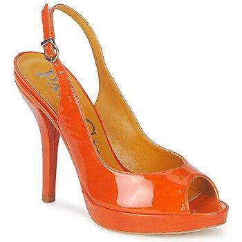 Skor Dam Sandaler Paco Gil STAR FIZO Orange