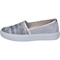 Skor Dam Slip-on-skor Janet Sport Sneakers BT420 Grå