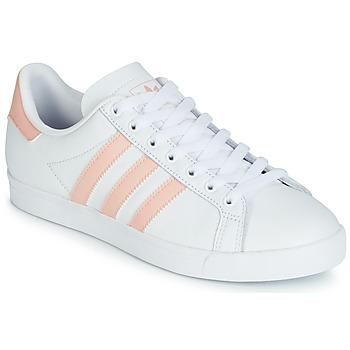 Skor Dam Sneakers adidas Originals COURSTAR Vit / Rosa