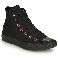Skor Dam Höga sneakers Converse CHUCK TAYLOR ALL STAR HEARTS CANVAS HI Svart