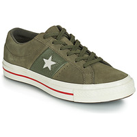 Skor Dam Sneakers Converse ONE STAR CUIR FASHION BALLER SUEDE OX Kaki