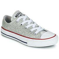 Skor Flickor Sneakers Converse CHUCK TAYLOR ALL STAR SPARKLE SYNTHETIC OX Grå