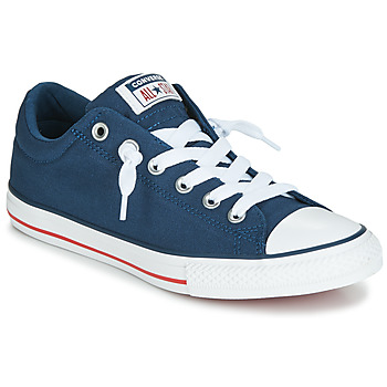 Skor Barn Sneakers Converse CHUCK TAYLOR ALL STAR STREET CANVAS OX Blå
