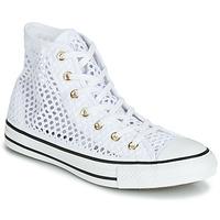 Skor Dam Höga sneakers Converse CHUCK TAYLOR ALL STAR HANDMADE CROCHET HI Vit