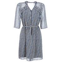 textil Dam Korta klänningar One Step FLORUS Marin / Flerfärgad