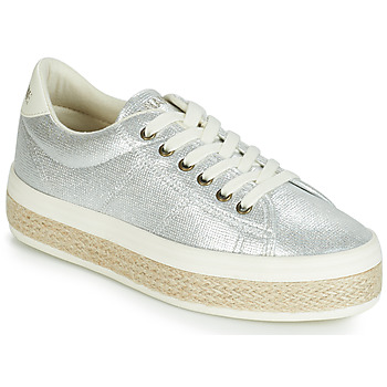 Skor Dam Sneakers No Name MALIBU Silver