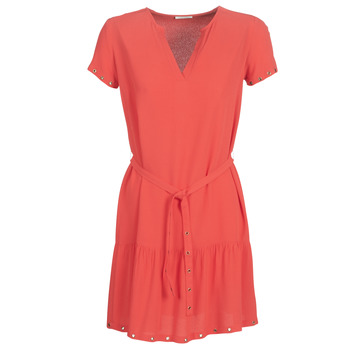textil Dam Korta klänningar Ikks BN30115-35 Korall
