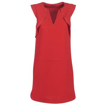 textil Dam Korta klänningar Ikks BN31075-36 Röd