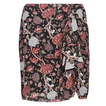 textil Dam kjolar Ikks BN27105-02 Svart / Flerfärgad