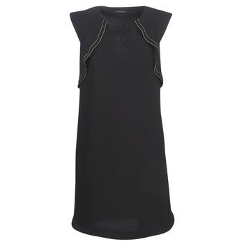 textil Dam Korta klänningar Ikks BN31075-02 Svart