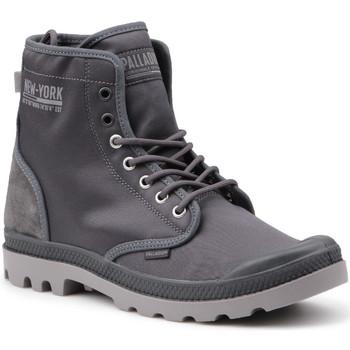Skor Herr Höga sneakers Palladium Manufacture Pampa Solid Ranger 76013-075-M grey
