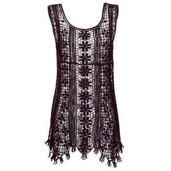 textil Dam Korta klänningar Banana Moon JOSY DREAMLAND Svart