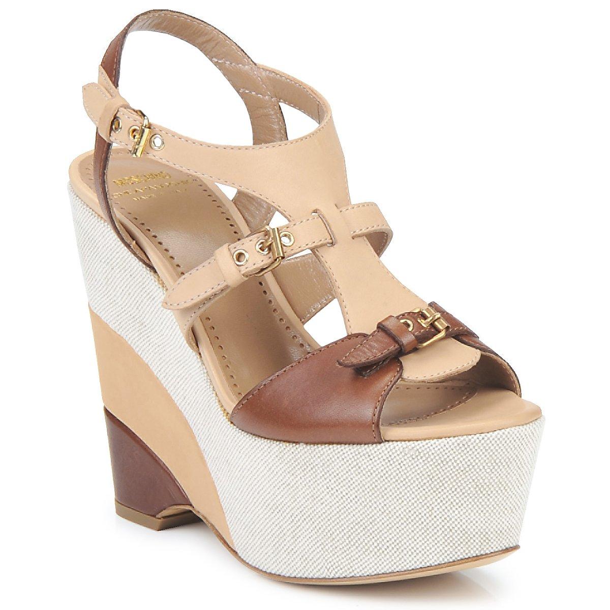 sandaler Moschino Cheap & CHIC STERLIZIA Beige / Brun