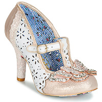 Skor Dam Pumps Irregular Choice PAPILLON Vit