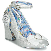 Skor Dam Pumps Irregular Choice DEITY Silver