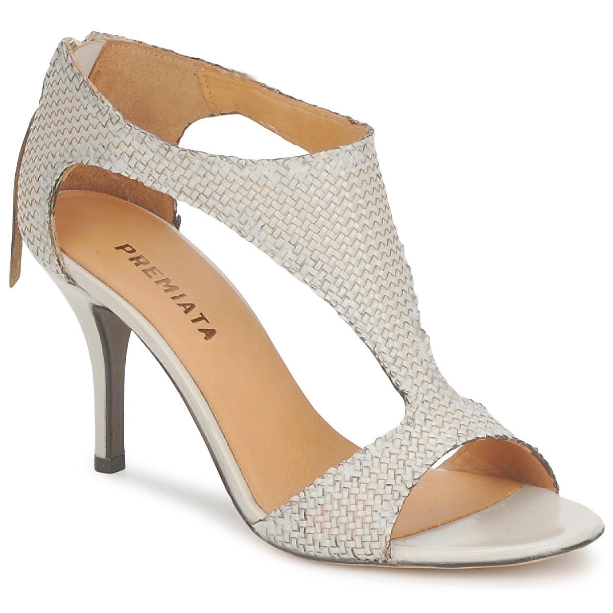sandaler Premiata 2834 LUCE Krämfärgad