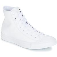Skor Höga sneakers Converse ALL STAR MONOCHROME CUIR HI Vit
