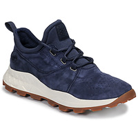 Skor Herr Sneakers Timberland BROOKLYN LACE OXFORD Blå