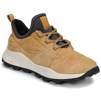 Skor Herr Sneakers Timberland BROOKLYN LACE OXFORD Beige